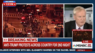 Chris Matthews on Trump Protests: What Kind Of Statement Is There To Make? They Lost