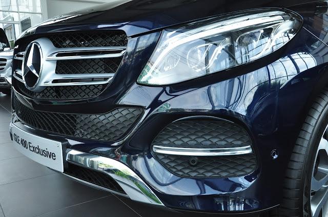 Mercedes GLE 400 4MATIC Exclusive thiết kế lưới tản nhiệt 2 nan