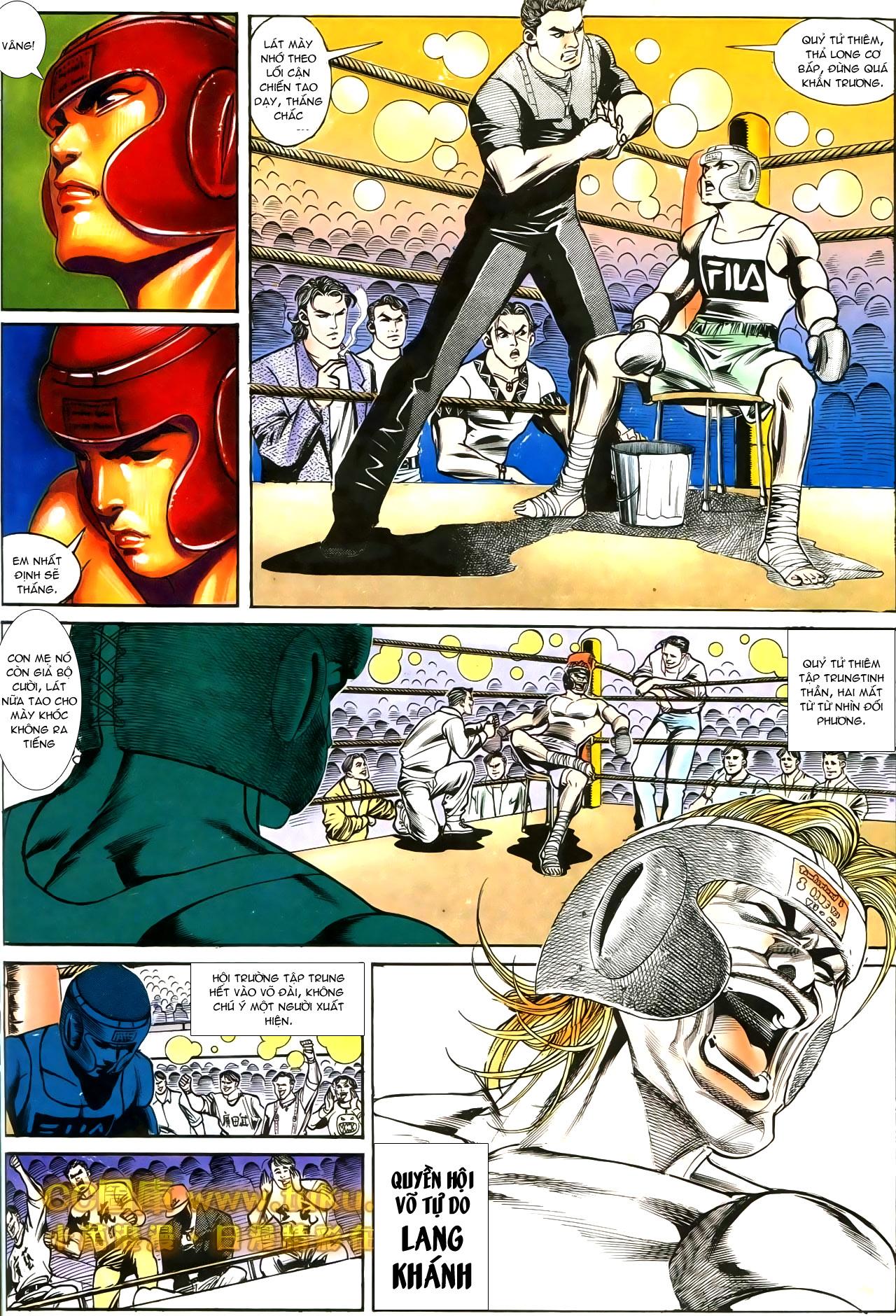 Người Trong Giang Hồ chapter 188: chiến nô trang 7