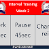 Interval Training Week 2