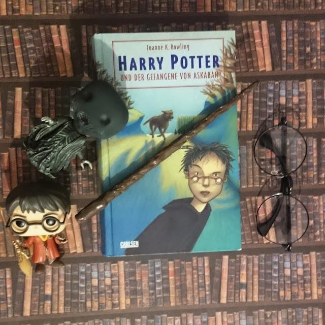 [Rezension] J.K. Rowling -  Harry Potter und der Gefangene von Askaban