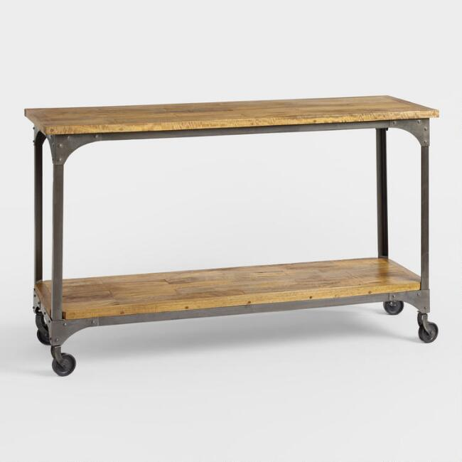 Wood And Metal Aiden Console Table: My Sweet Savannah: ~5 Favorite Console Tables~