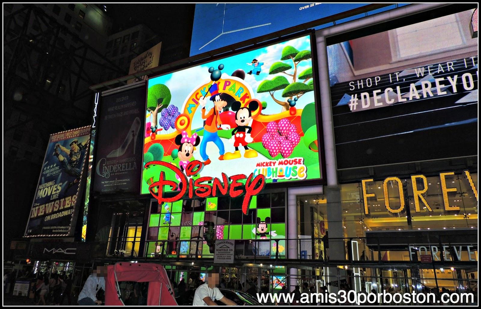 Segunda Visita a Nueva York: Times Square