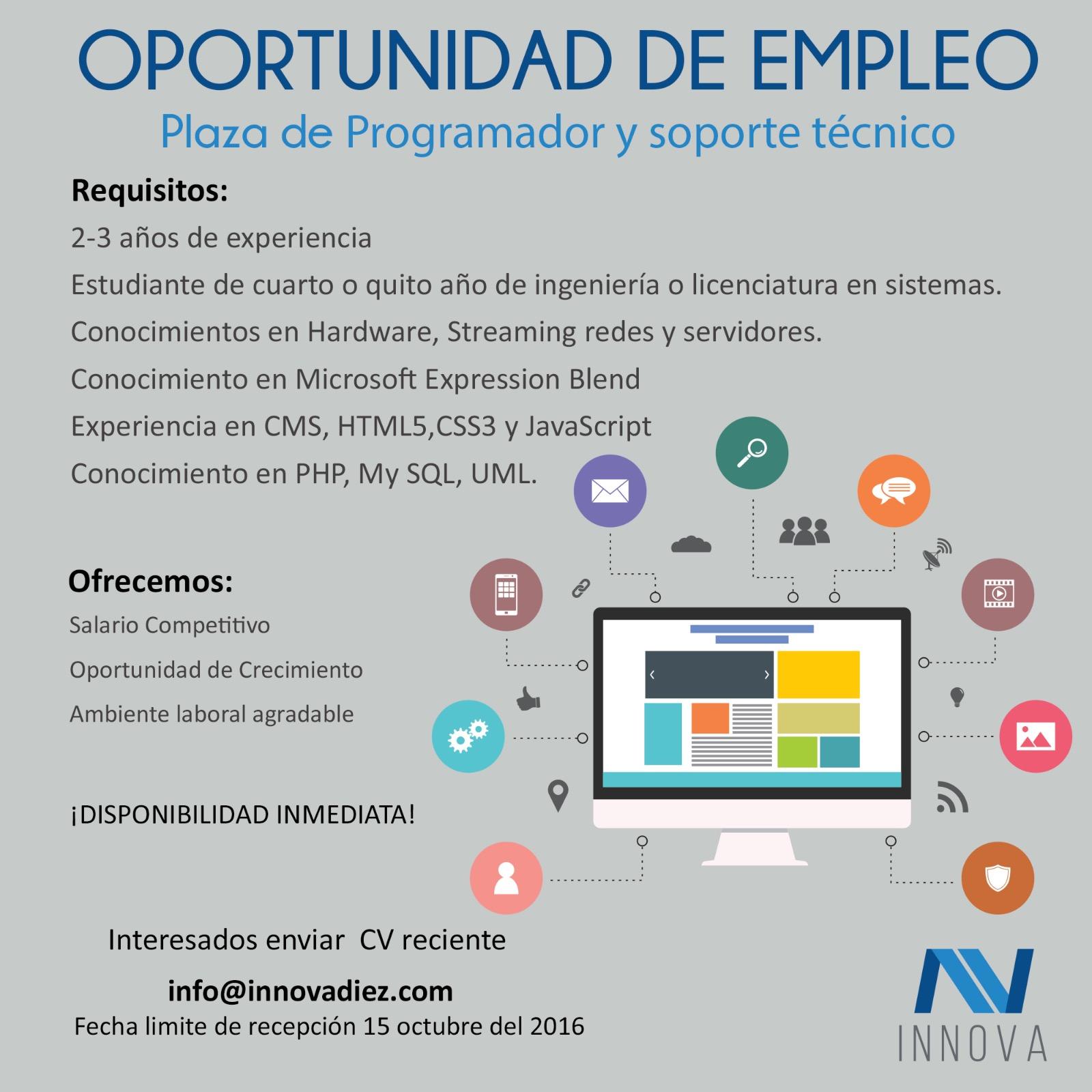 Guate Empleos IT: octubre 2016