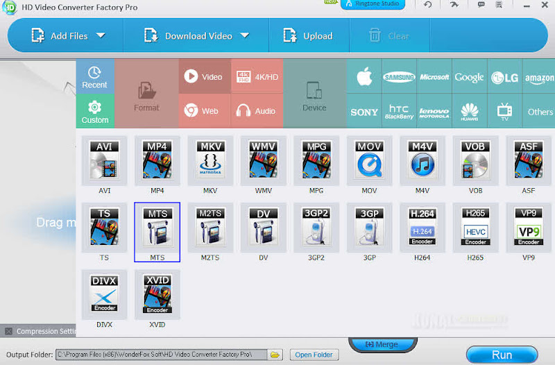 HD Video Converter Factory Pro: Convert HD Video With Fast Speed