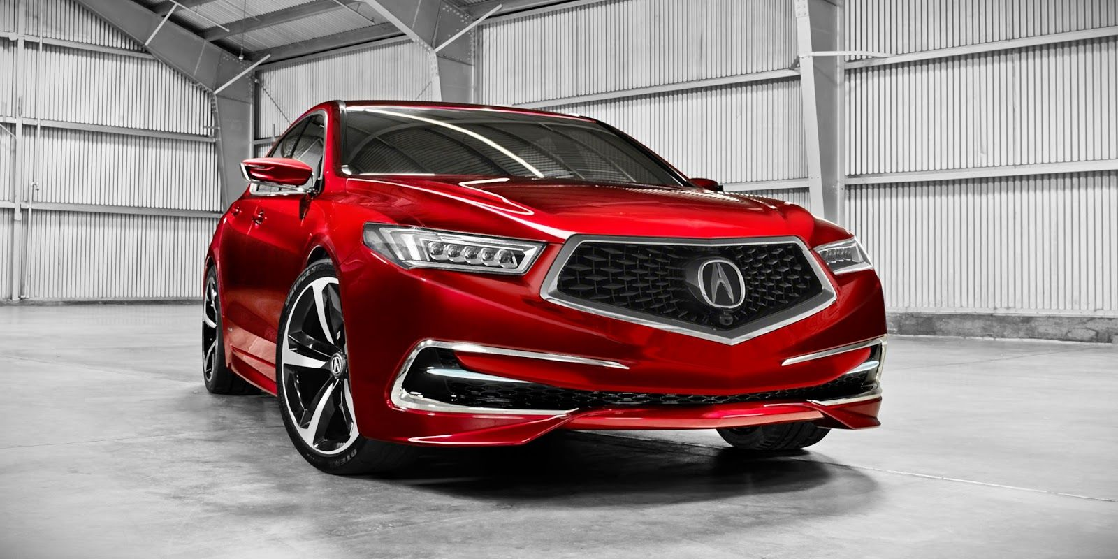 2018 Acura Tlx Redesign Interior Exterior Specs Smallcarsreviews