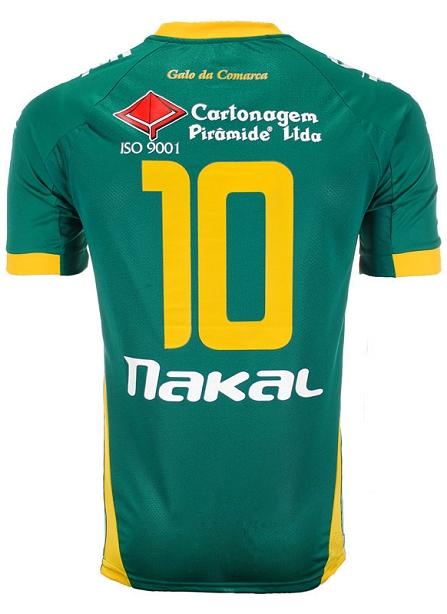 Nakal apresenta uniformes do XV de Jaú - Show de Camisas 62e8c3fdb5b48