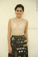 Taapsee Pannu in transparent top at Anando hma theatrical trailer launch ~  Exclusive 004.JPG
