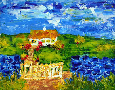 http://www.ebay.com/itm/Gated-Cottage-Contemporary-Landscape-Acrylic-Painting-Artist-France-2000-Now-/291808063102?ssPageName=STRK:MESE:IT