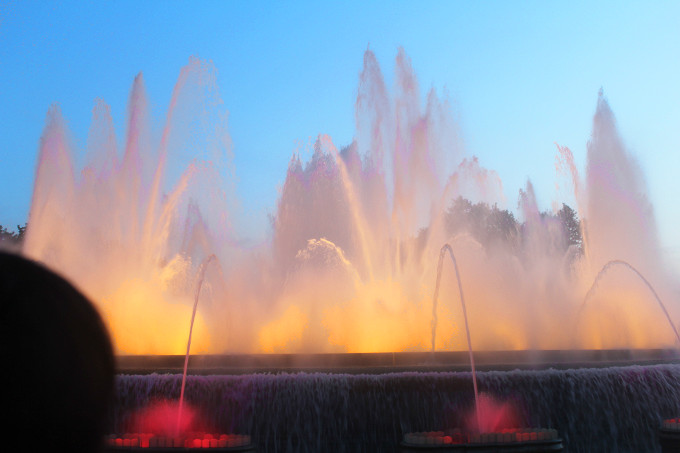 The Wayfarer - Montjuic Fountain