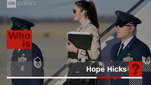 Hope Hicks named permanent WH communications director By CNN , Sep. 12 , 2017 Washington (CNN)Hope Hicks...