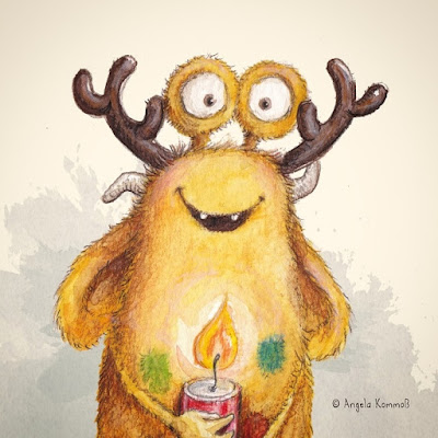 Pumpf, Kinderbuch, Glück, Resilienz, Loni lacht, Weihnachten