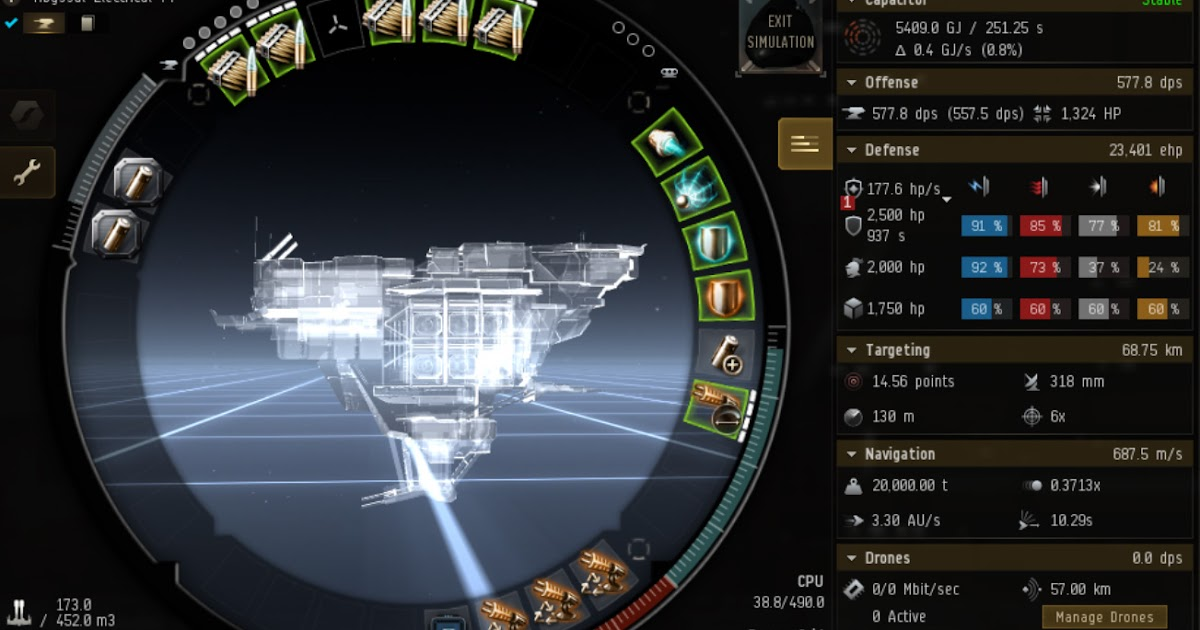 Summary -> Eve Online Mission Gila Tier 5 Abyssal Deadspace Fit