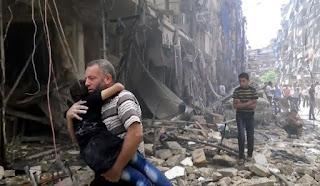 la coalition US d'avoir violé le droit international en Syrie