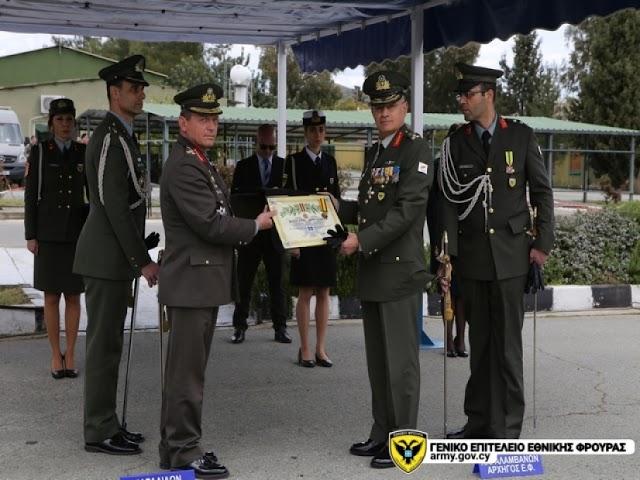 Κύπρος: Παραλαβή καθηκόντων νέου Αρχηγού Εθνικής Φρουράς (ΦΩΤΟ)