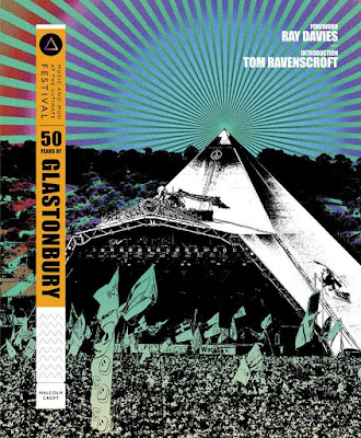 50 Years of Glastonbury by Malcolm Croft book cover