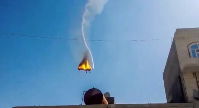 Um drone dos Estados Unidos foi derrubado no oeste do Iêmen no domingo, o Pentágono confirmou nesta segunda-feira (02).