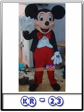 kostum mickey mouse tikus badut