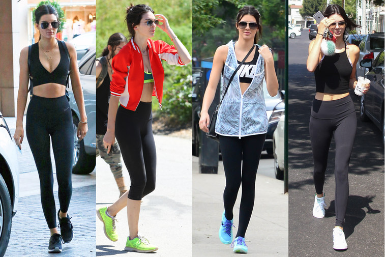 Kendal Jenner Gym Clothes