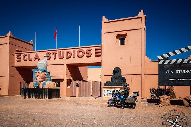 posado en CLA Studios Marruecos
