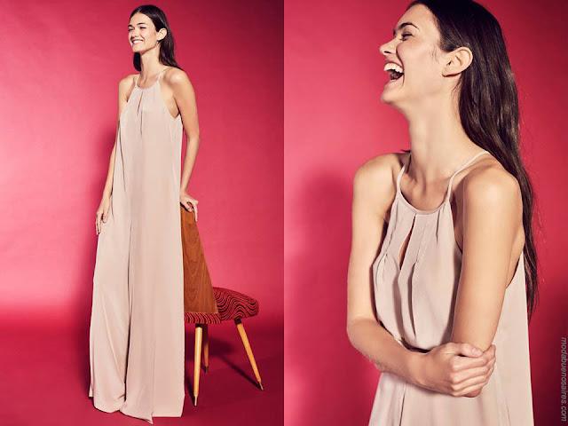 Vestidos de moda mujer primavera verano 2018. Moda mujer verano 2018.
