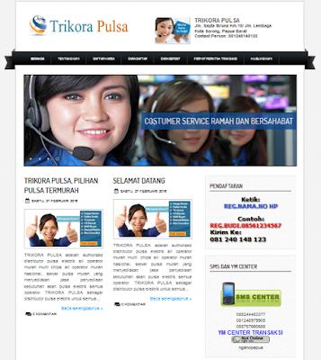 jasa website pulsa murah 50 ribu