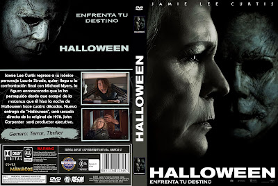 CARATULA HALOWEN-NOCHE DE HALLOWEN-2018 [COVER DVD]