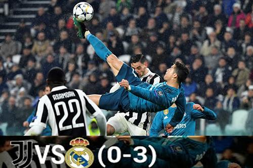 Tendangan Salto Ronaldo Kandaskan Dendam Jumventus