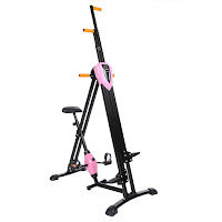 Ancheer Vertical Climber Machine, indoor mountain climbing machine plus basic exercise bike in 1 machine