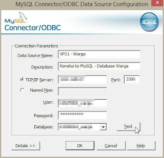 Membuat Koneksi MySQL dengan MS Access
