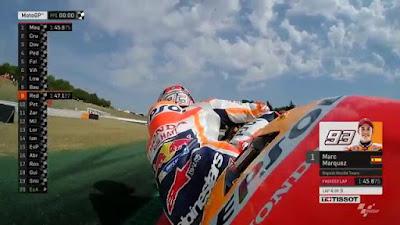 Marquez Tercepat di Latihan Pertama GP Catalunya, Rossi ke-17