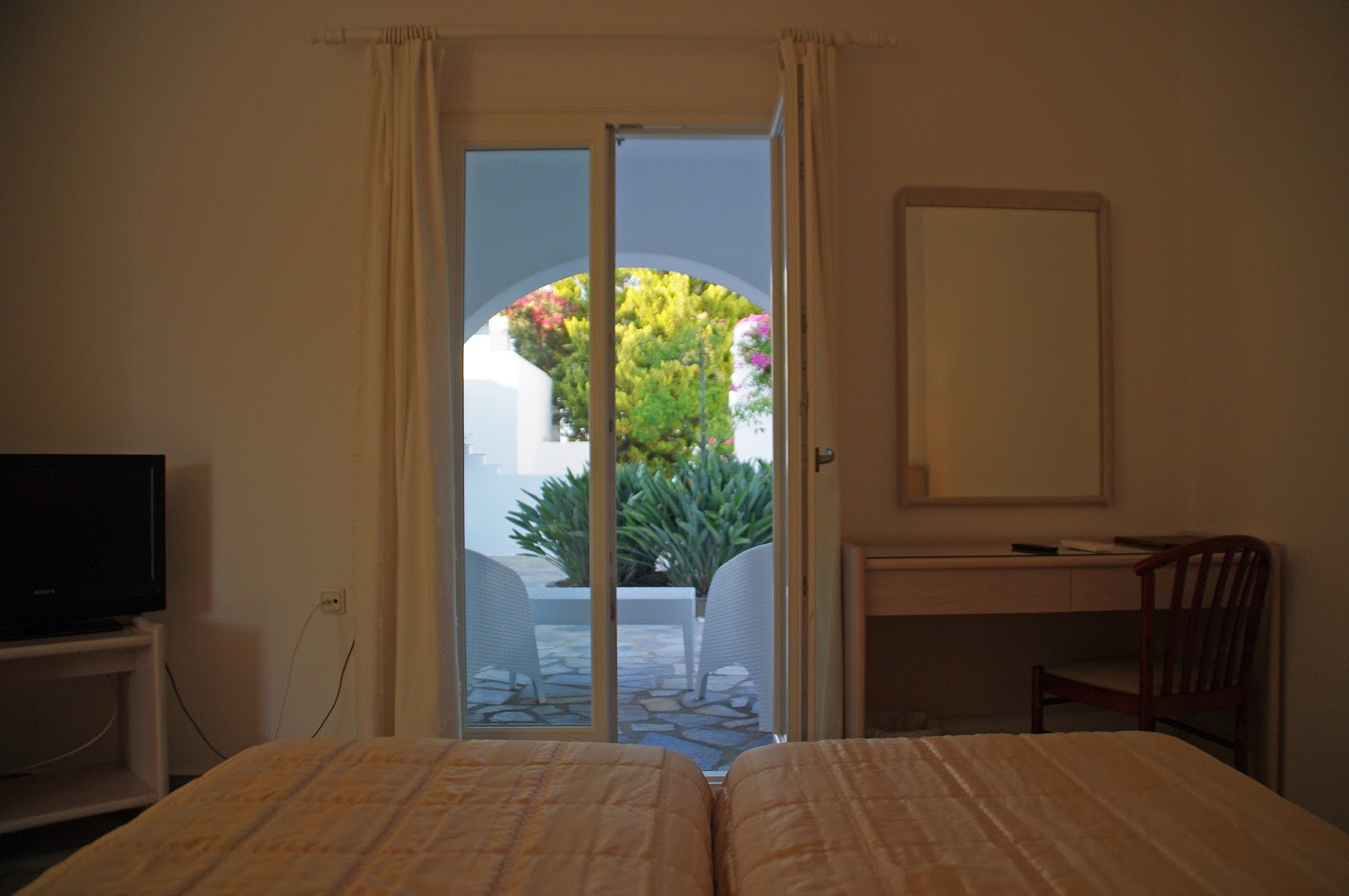 Astir of Paros Views from Bed