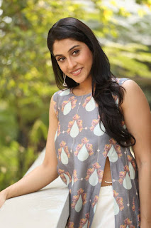 Regina Latest Pictures in Long Dress at Shourya Movie Interview    ~ Bollywood and South Indian Cinema Actress Exclusive Picture Galleries