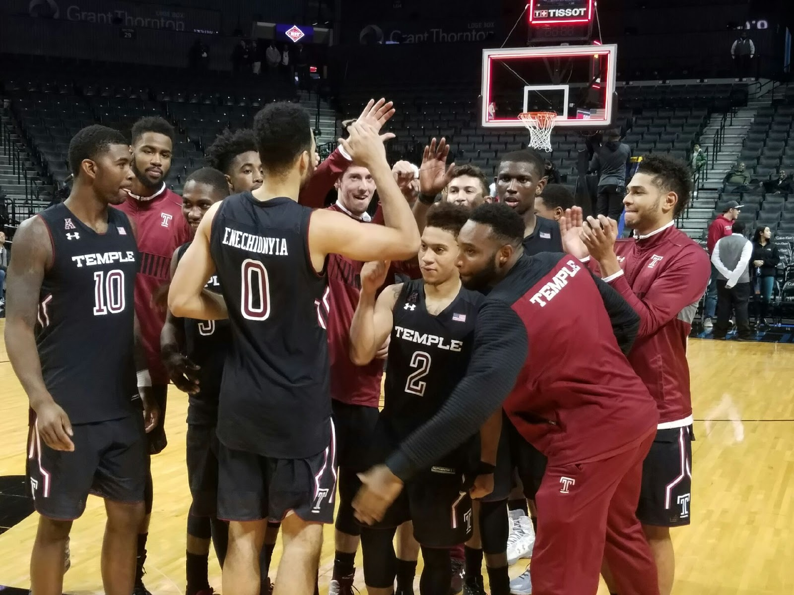 Syracuses andrew white has learned being a one dimensional player doesnt work syracuse com - A Victorious Temple Team Celebrates Their Nit Preseason Tip Off Title