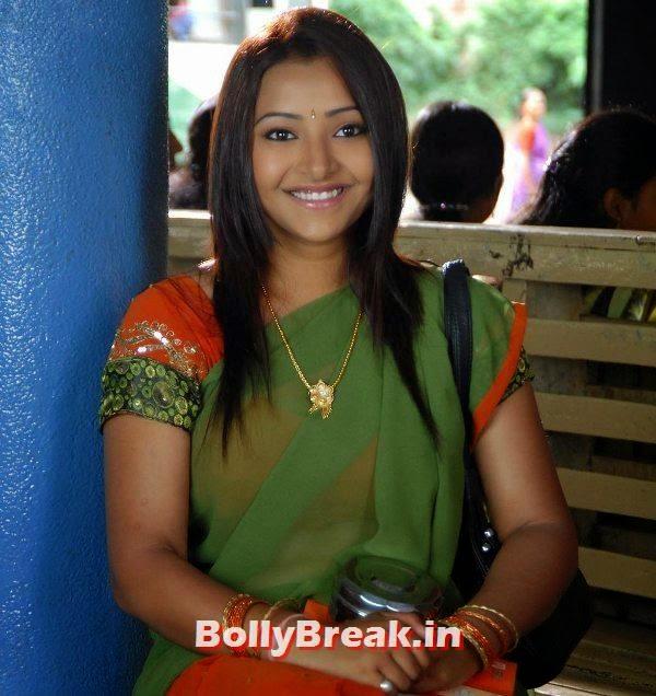 , Shweta Basu Prasad Saree Pics