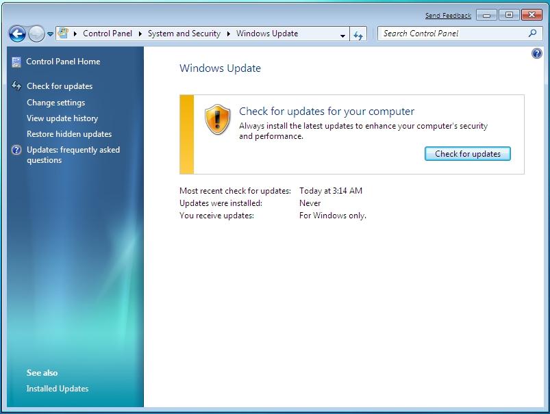 Web Log S Juuier Turn Off Windows Update Automatic Windows 7
