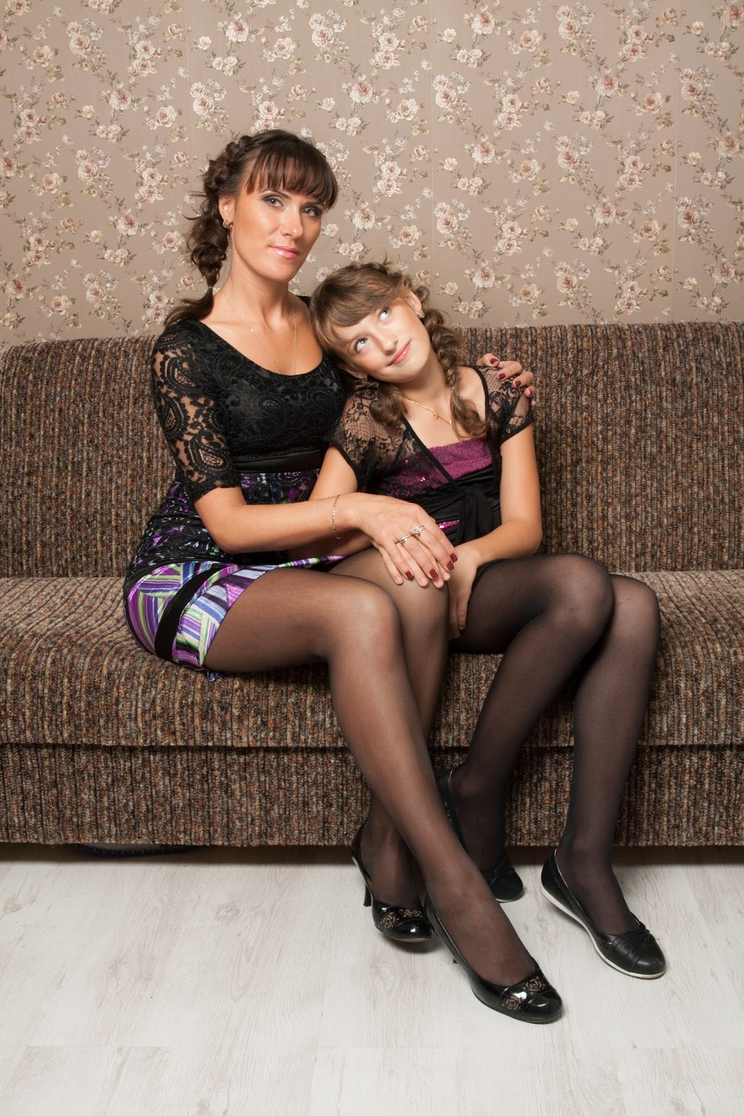 Fashion Tights Skirt Dress Heels  My Friend Goca-4833