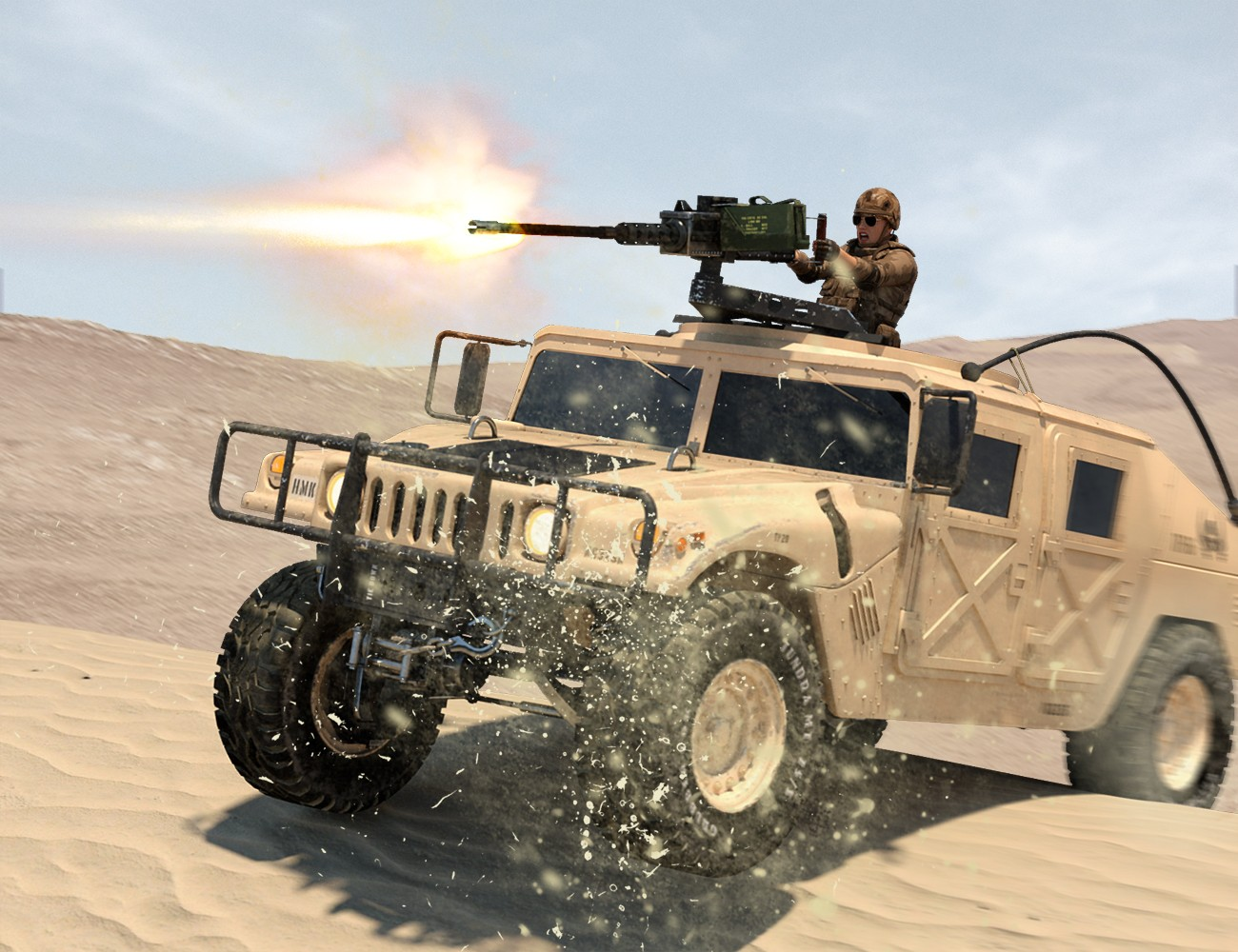 Computer Graphics 3d Genesis Light Tactical Vehicle From