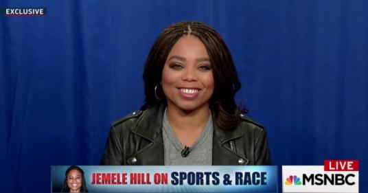 ESPN's Jemele Hill tells MSNBC's Al Sharpton why she left 'SportsCenter'
