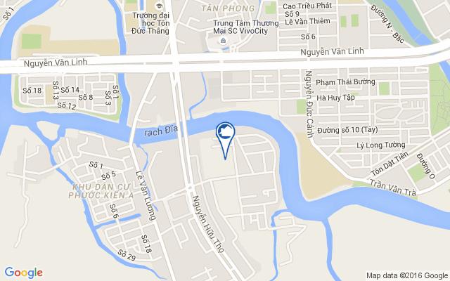 Giới thiệu khu căn hộ dọc bờ sông Rạch Đĩa