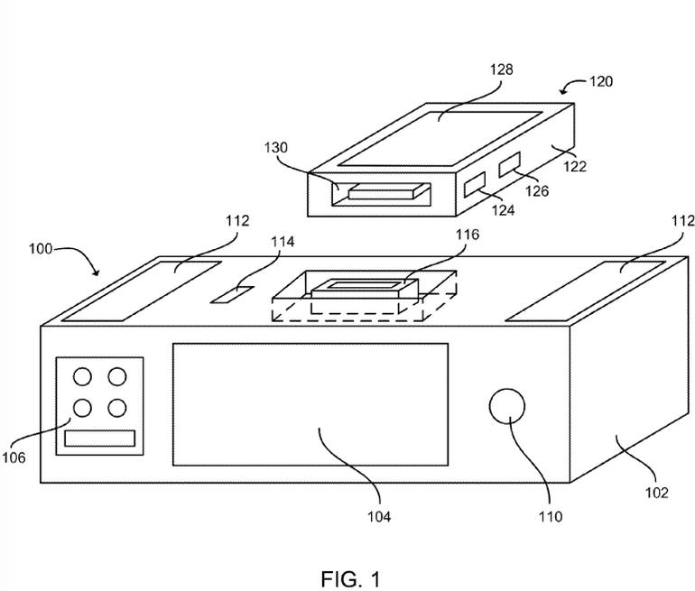 newgersy/ Apple gets a patent for a Siri-fueled brilliant dock