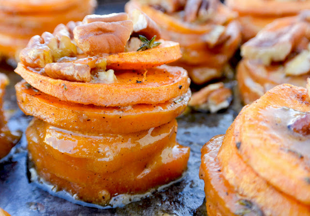 Mini Sweet Potato Gratins by Floating Kitchen
