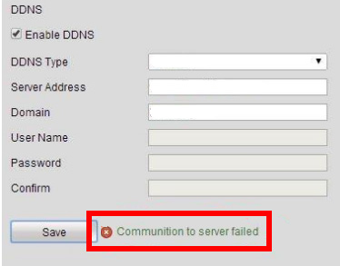 """How to Fix Hikvision """"Communication to Server Failed"""" Error"""