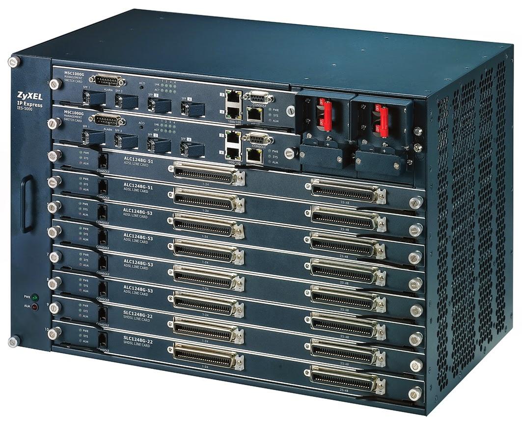 tutorial config gpon: Mengenal DSLAM IES-5005