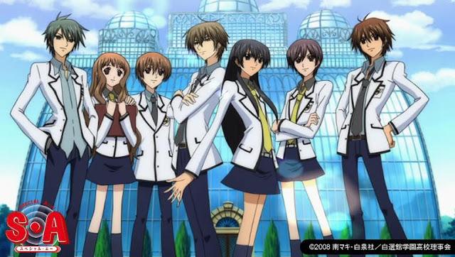 Anime Romance Comedy Terbaik Special A