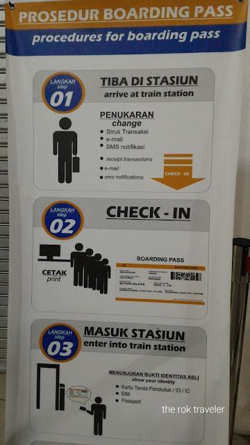 Cara Check In dan Cetak Boarding Pass di Stasiun Kereta Api