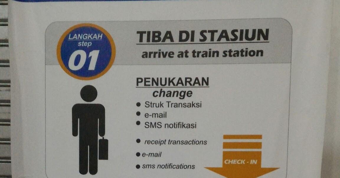 Cara Check In Dan Cetak Boarding Pass Di Stasiun Kereta Api Asik