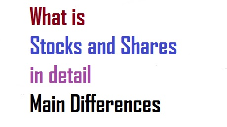What is Stocks and Shares in detail Main Differences