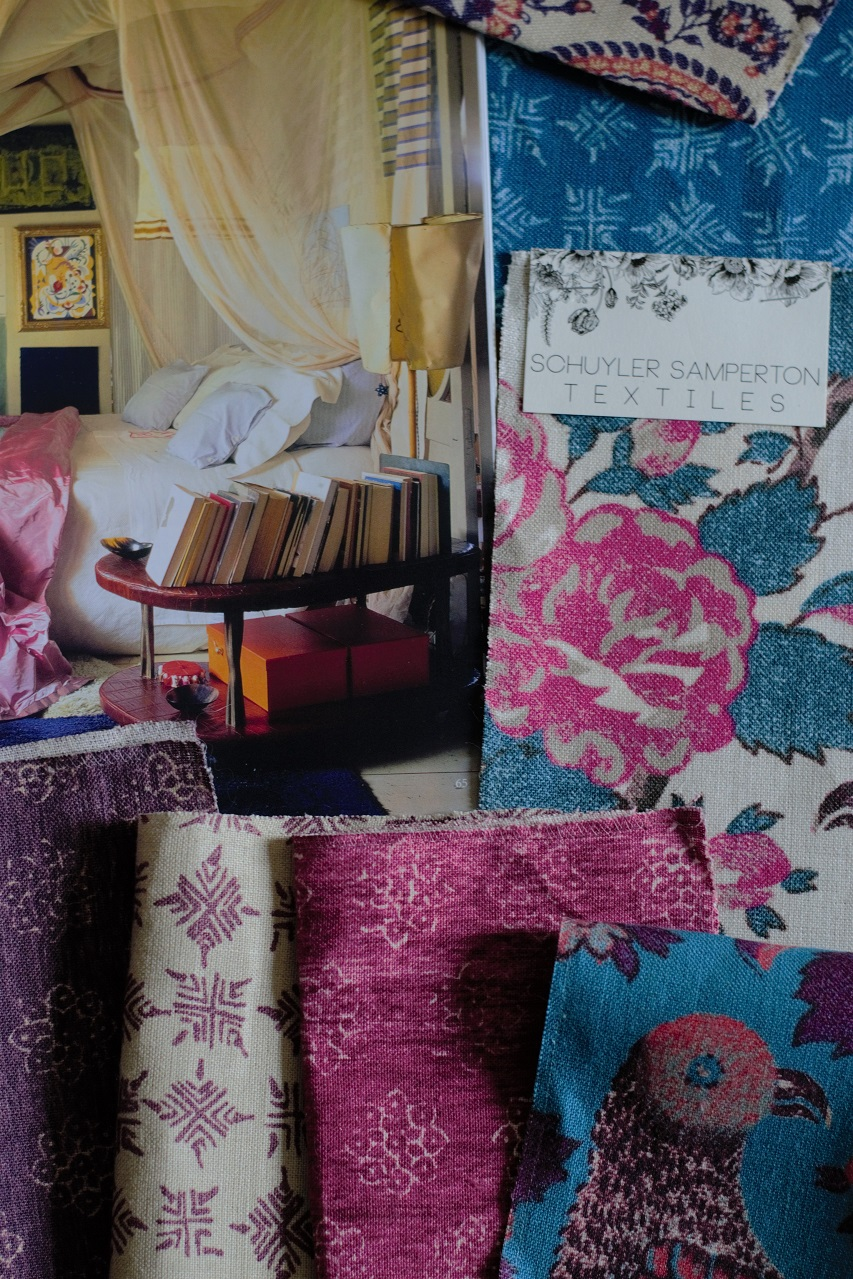 The World of Interiors & Schuyler Samperton Textiles · Lisa Hjalt