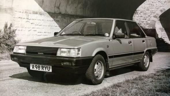 1983 Camry 1.8 GL -  - Lịch sử các dòng xe Toyota Camry : Đột phá qua từng thế hệ